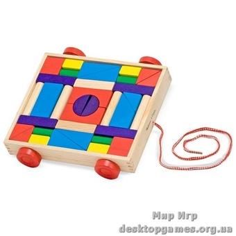 Кубики на тележке