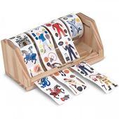 Гигантский набор наклеек на ролике для мальчиков, 1300 шт.