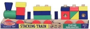 Поезд c кубиками