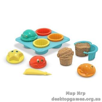 Песочные формы для кексиков