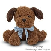 Шоколадный щенок, 23 см