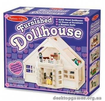 Меблированный кукольный домик