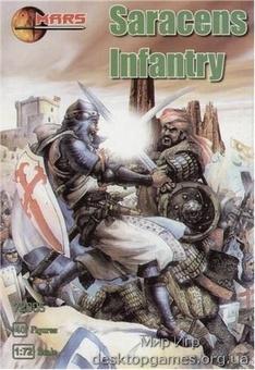Saracens infantry