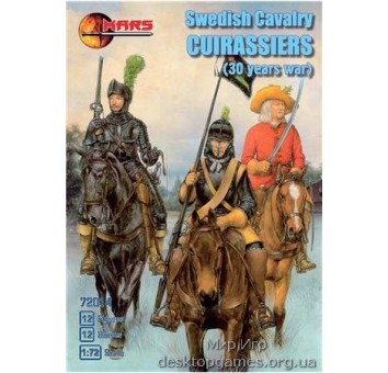 Swedish cavalry cuirassiers, 30 years war