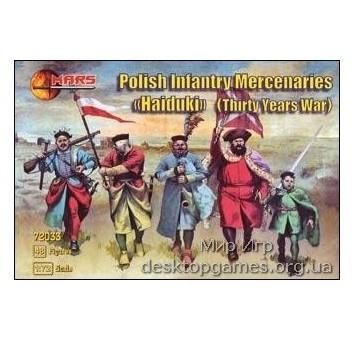Polish Infantry Mercenaries (Haiduks) (Thirty years war)