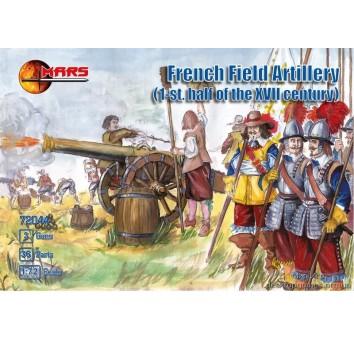 Французская полевая артилерия (I пол. XVIIв.)