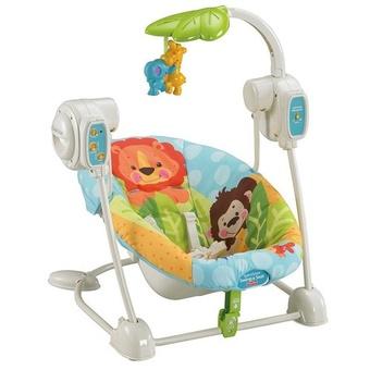 Портативное кресло-качалка Любимая планета Fisher-Price (Т2066)