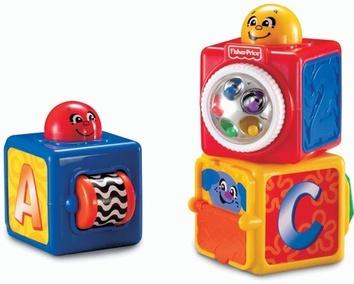 Двигающиеся кубики Fisher-Price (74121)
