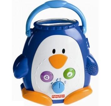 Ночник-проектор Пингвинчик Fisher-Price (Ш9893)