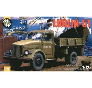 MW7216 Lublin-51 Polish truck