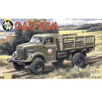 MW7226 Gaz-63A Soviet truck