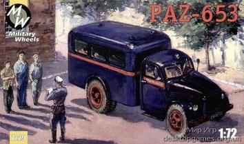 MW7229 PAZ-653 Soviet special truck