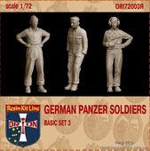 German Panzer Soldiers (basic set 3), resin