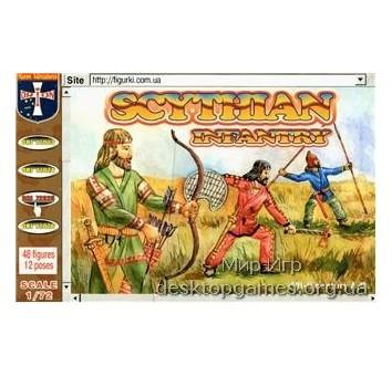 Scythlan infantry, VII-II century A.D.