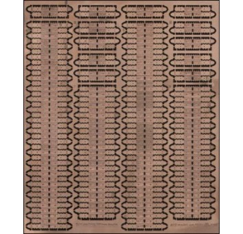 PE7232 Photoetched tracks set for 1/72 T-34 mod.1941