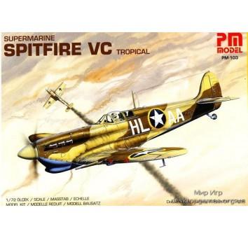 Самолет Spitfire VC Tropical (Спитфайр VC)