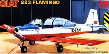 Самолет Сиат 223 Фламинго/SIAT 223 FLAMINGO