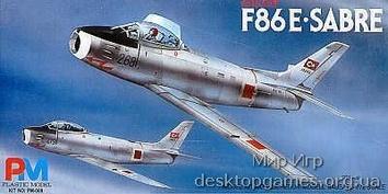 Модель самолета F-86E