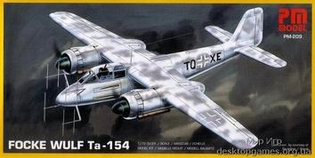 Самолет Фокке-Вульф Ta.154 (Focke-Wulf)