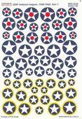 VVS USAF national insignia 1940-1942 гг часть 1