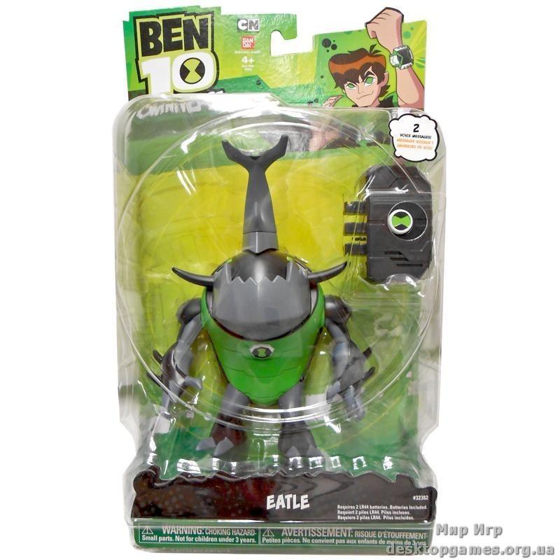 """Фигурка Итл (Eatle) со звуковым ящиком из серии """"Бен 10: Omniverse"""" - Ben 10."""