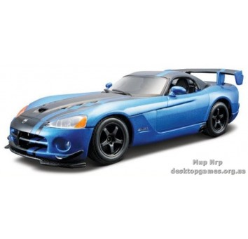 DODGE VIPER SRT10 ACR (2008)  (голубой металлик, 1:24)