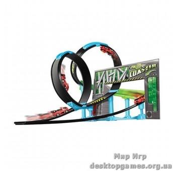 Игровой набор серии GoGears «Двойная петля» (трек с одной дорожкой,2 петли,1 машинка с инерц.механ.)