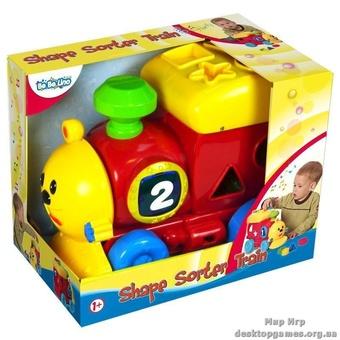 """Детская игрушка-сортер """"Поезд"""""""