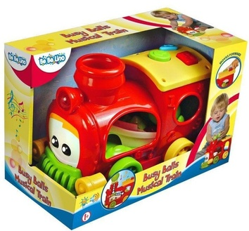 """Детская игрушка """"Музыкальный поезд-Забавные мячики"""""""
