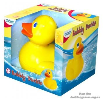 """Игрушка для игр в воде """"Чудесная уточка, умеющая пускать пузыри"""""""