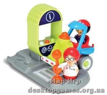 """Детский интерактивный игровой набор """"Умная железнодорожная станция""""."""