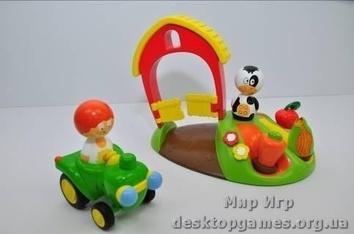 """Детский интерактивный игровой набор """"Собираем урожай""""."""