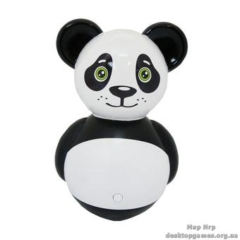 """Детская интерактивная неваляшка """"Панда""""."""