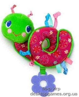 Подвесная игрушка «Яркая улитка» Pretty In Pink, Bright Starts