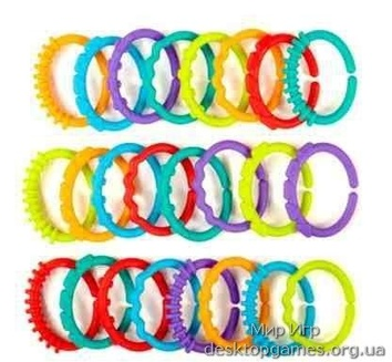 Подвесная игрушка «Разнообразие колец» Bright Starts