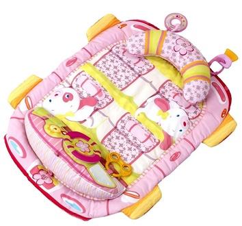 Коврик для выкладывания на животик розовый Pretty In Pink, Bright Starts
