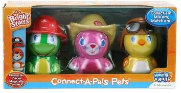 Игровой набор Забавные зверята (черепашка, кот, цыпленок)
