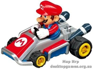 Гоночная трасса Каррера на батарейках Mario Kart 7.