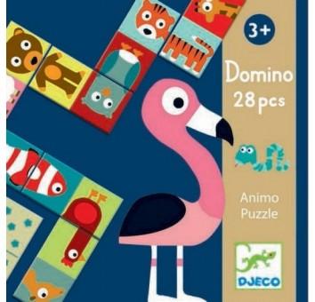 Игра - детское домино 'Сложи животное'