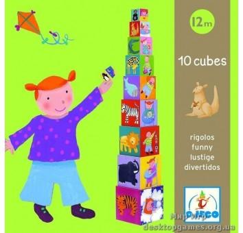 Пирамидка 'Забавные кубики'