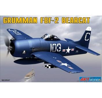ART7201 Grumman F8F-2 BEARCAT USAF carrier based fighter