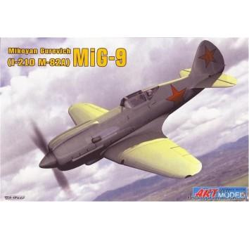 Пластиковая модель советского самолета И-2109(Миг-9)
