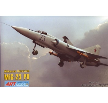 Модель самолета Микоян МИГ-23ПД