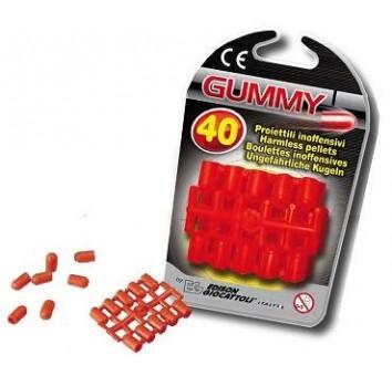 Набор пластмассовых пулек - GUMMY, 40 шт. - EDISON.