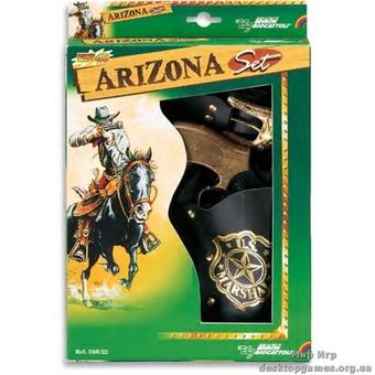 Набор ARIZONA с 8-зарядным пистолетом - EDISON.