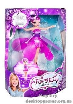 Волшебная летающая фея, розовая.