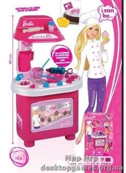 Игровой набор Кухня - Барби-Кондитер (11 аксессуаров, 78 см)