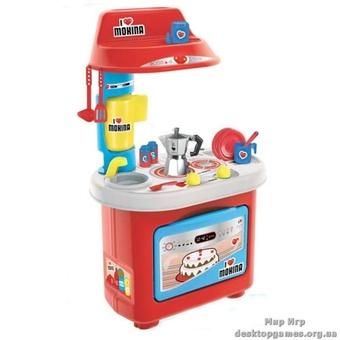 Игровой набор Кухня - Биалетти Мукка (звуковая,12 аксессуаров, 80 см)
