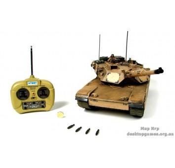 Танк на радиоуправлении «М1А2  ABRAMS»