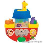 Развивающая игрушка - ЛОДОЧКА (для игры в ванной)